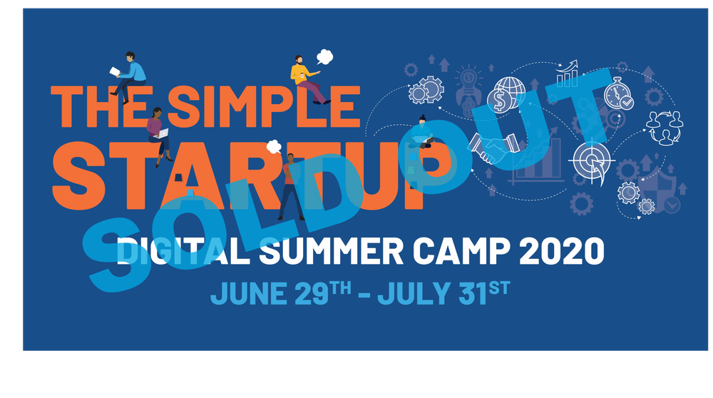 The Simple StartUp Digital Summer Camp (June 29th - July 31st)