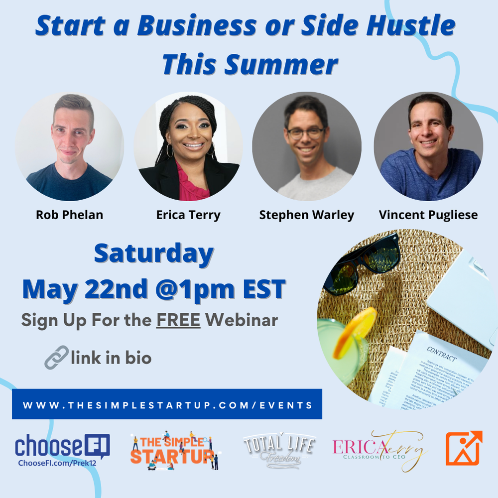 Start a Business or Side Hustle This Summer