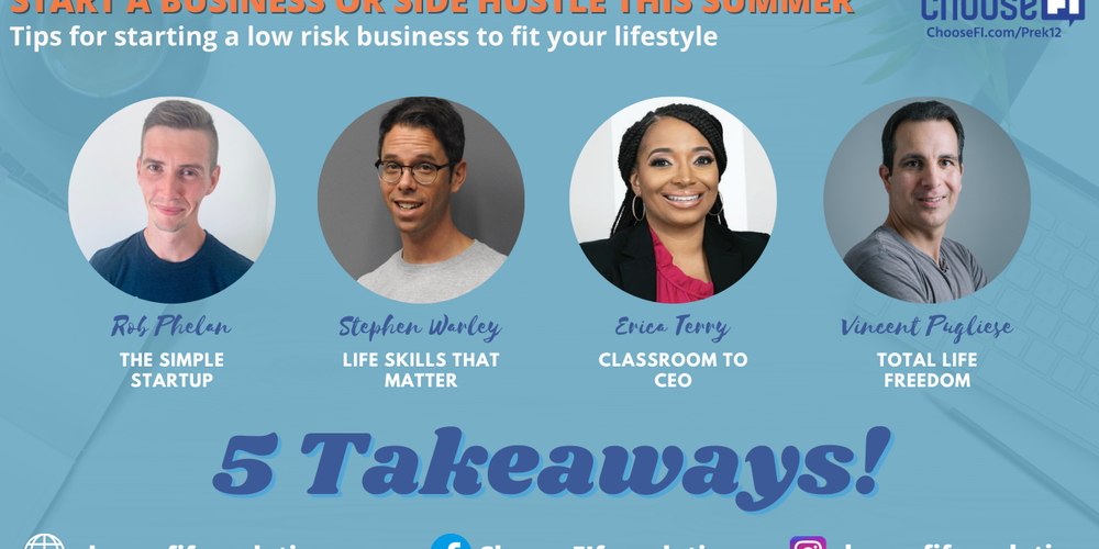 """5 Takeaways From """"Are You Ready To Start A Business This Summer?"""""""